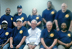 The union's Negotiation Team crafted the tentative agreement that truck drivers and mechanics working for Pat Salmon & Sons voted to ratify Sept. 10.