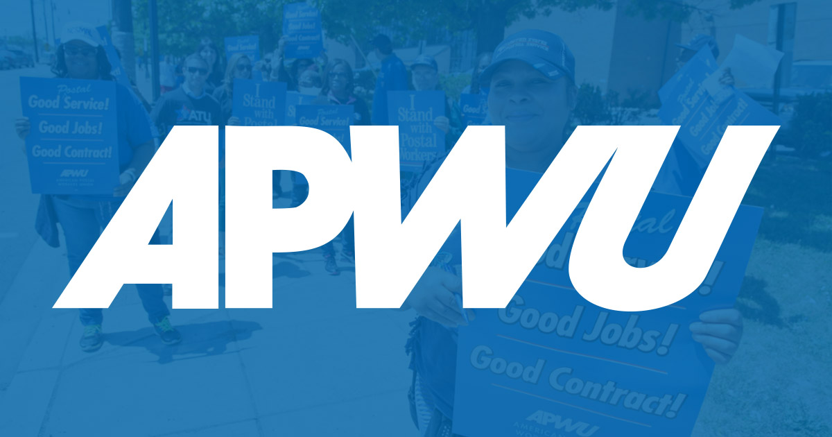 Fighting Today for A Better Tomorrow | American Postal Workers Union