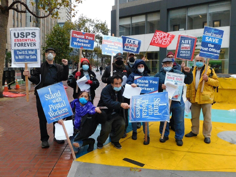 San Francisco Protestors