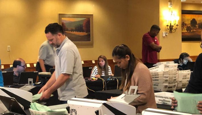 AAA counts ballots for the 2019 National Officer Elections