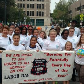 Milwaukee Area Local Member on Labor Day