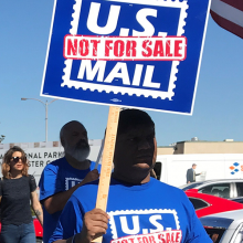 Protest - US Mail Not For Sale