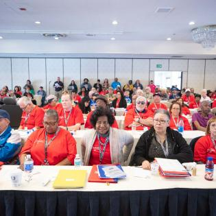 Retirees meet at the 2019 All-Craft Conference