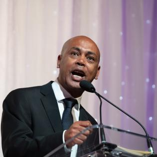Guest of Honor, AFL-CIO Executive Vice President Tefere Gebre