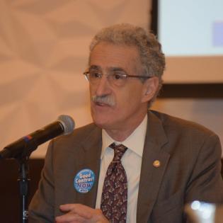 President Dimondstein Speaks at Interest Arbitration