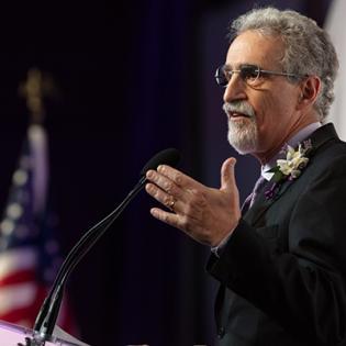 President Dimondstein Gave the Keynote Speech
