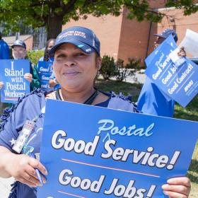 Good postal service, good jobs, good contract