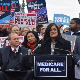 Rep Pramila Jayapal: Medicare for All