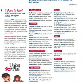 Union Plus Benefits Brochure