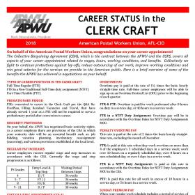 Welcome to Career Status in the Clerk Craft