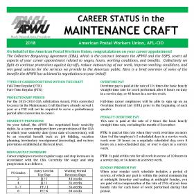 Welcome to Career Status in the Maintenance Craft