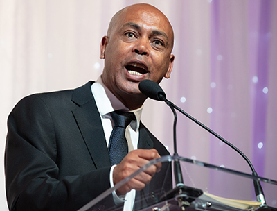 AFL-CIO Executive Vice President Tefere Gebre